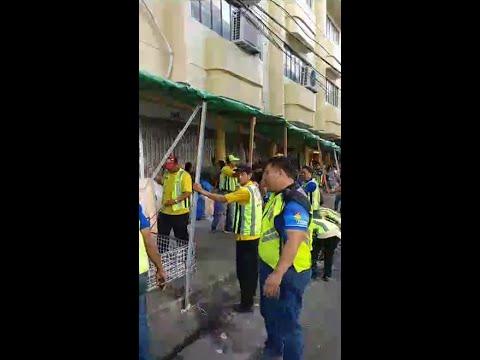 MMDA Baclaran sidewalk clearing