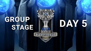 2018 World Championship: Group Stage Day 5
