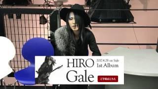 http://www.lacrymachristi.jp/ La'cryma ChristiのギタリストHIROのフ...