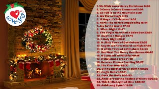 25 Popular Christmas Songs and Christmas Carols 🔥 Fireplace Christmas Music Playlist