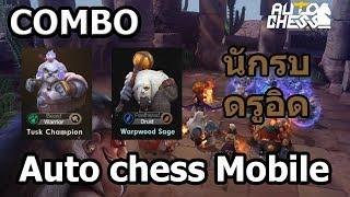 Auto chess Mobile [COMBO] นักรบ เเละ ดรูอิด ตัวต้นเกมที่เล่นง่ายๆสบายเเถมเทคนิคเล็กๆน้อยๆ