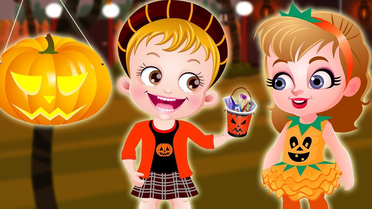 Baby Hazel Pumpkin Party On Halloween Night By Games