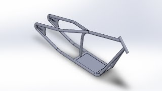 Belajar Solidworks#rangka chooper#weldment