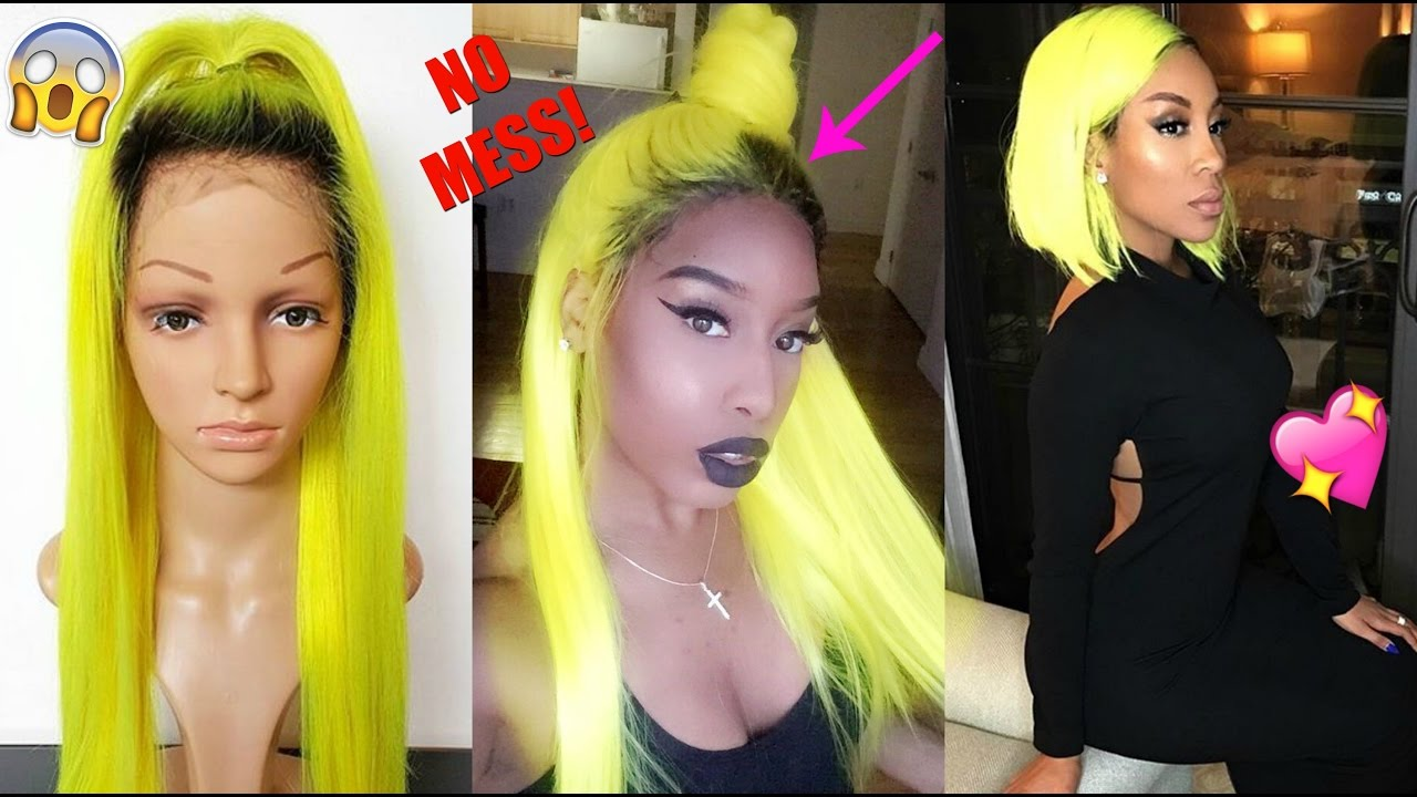 How To Add Root To A Colored Synthetic Lace Wig Beginner