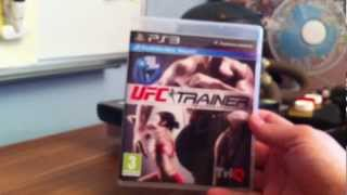 UFC Personal Trainer: Ultimate Fitness System Unboxing (PS3)