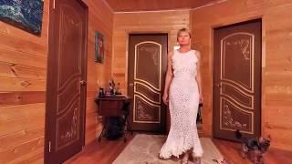 """8.1 МК Свадебное (венчальное) платье, """"пэчворк"""", """"Лепестки роз"""""""