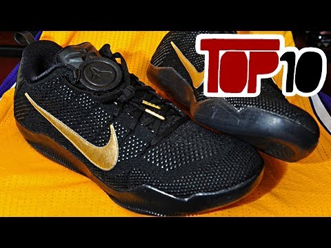 Top 10 Most Iconic Basketball Shoes In The NBA