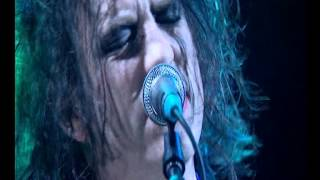 the cure The End of the World and  Inbetween Days live tv subtitulada