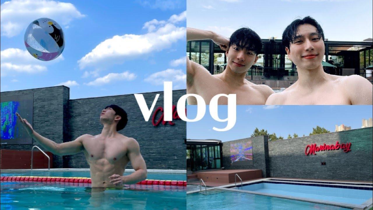 얌전하게 호텔에서 수영만 하는 vlog