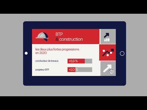 Baromètre des salaires cadres Expectra : BTP & construction