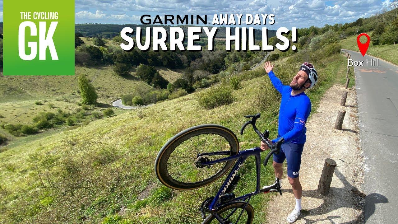 CYCLING UP BOX HILL | Garmin Away Days | Ben Foster - The CyclingGK