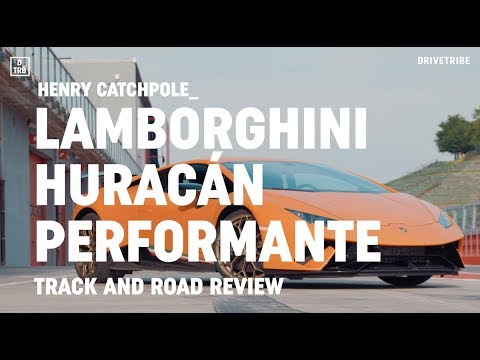 REVIEW: Lamborghini Huracán Performante, driven on track and on road