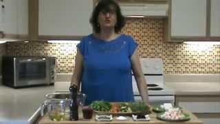 Greek Salad W/shrimp Recipe!  Mediterranean Salad.. Summer Salad!!!