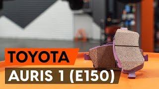TOYOTA AURIS Rėmas, stabilizatoriaus tvirtinimas keitimas: instrukcija
