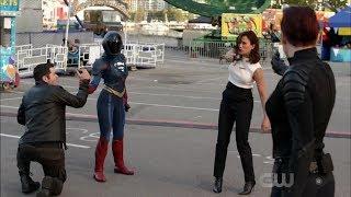 Supergirl 4x04 Supergirl, Alex and J'onn vs Mercy and Otis