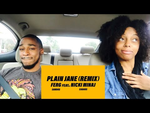 ASAP Ferg ft Nicki Minaj - Plain Jane Remix !!! ( Th&Ce' Reaction)
