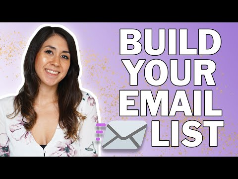 Email List Building From Scratch | Convert Followers into Customers
