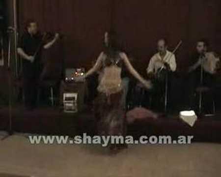 Shayma - Bellydance - Taksim Baladi y Derbake