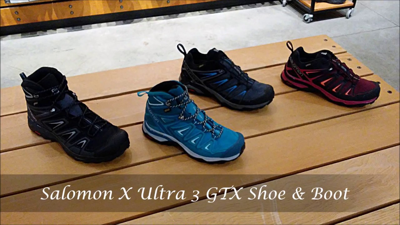 low priced c5c02 ed868 Salomon X Ultra Mid 3 GTX Hiking Boot Review - SportProvement