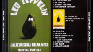 Sitting And Thinking - Led Zeppelin (live San Francisco 1969-04-27)