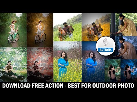 Photoshop Action Free Download - Best For Outdoor Photography
