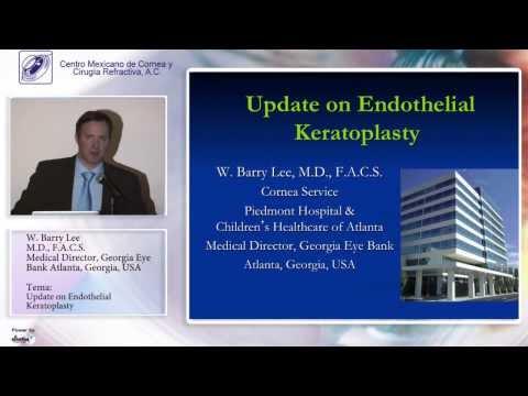 Dr. W Barry Lee - Córnea 27 de Febrero de 2014 - Sesión Mensual
