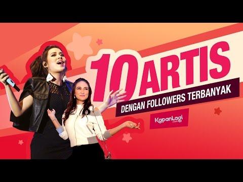 10 Selebriti Indonesia Ini Punya Puluhan Juta Followers Instagram