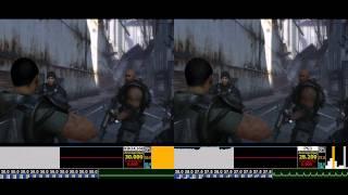 BINARY DOMAIN DEMO Analysis X360 vs PS3