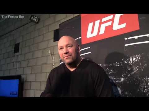 Will UFC return to Fresno? UFC President Dana White has that answer