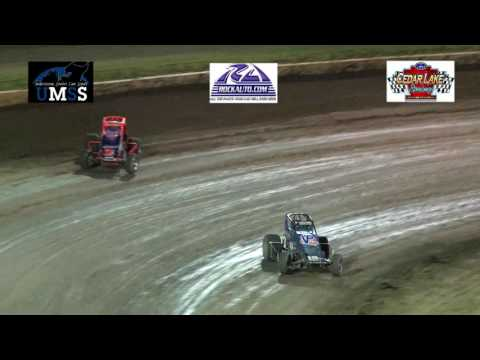 7-9-2016 UMSS Traditional sprints Cedar Lake Speedway