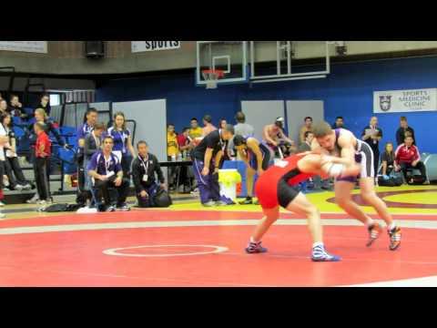 CIS Championships 2012: 68 kg Andy Sanford vs. Ilya Abelev