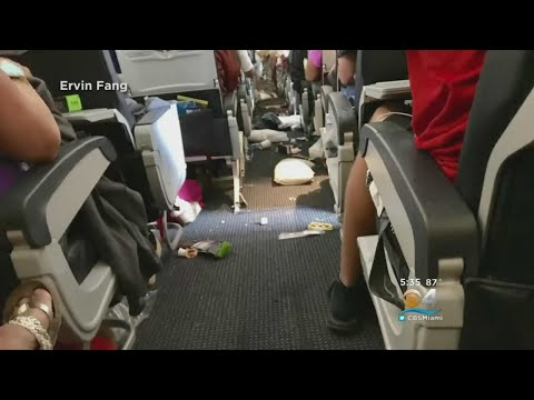 Severe Turbulence Leaves American Air Passengers All Shook Up