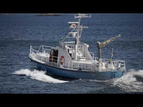 Shipsforsale Sweden, TV 243, coastguard vessel, fritidsfartyg, Anti-piracy operations.
