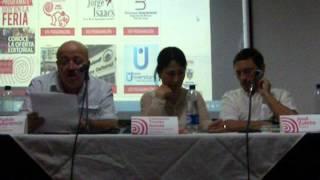 Fabio Marttínez presenta Letra herida, cuentos, de Consuel Triviño. Cali, Sept 21, 2012