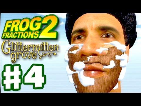 Frog Fractions 2 - Gameplay Walkthrough Part 4 - Shave Obama! (Glittermitten Grove)