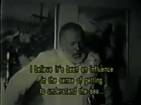 Ernest Hemingway Speaking Spanish Fluently -- 1954