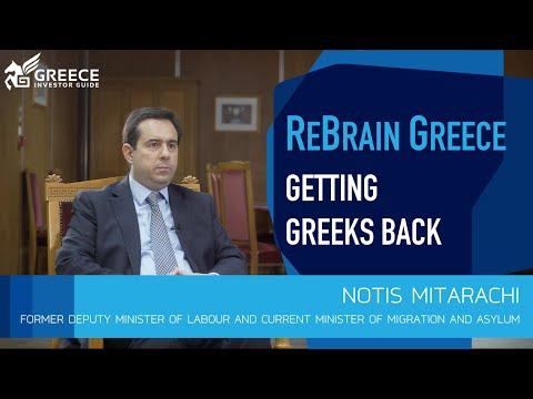 Notis Mitarachi, Former Deputy Minister of Labour - Greece Investor Guide (1)