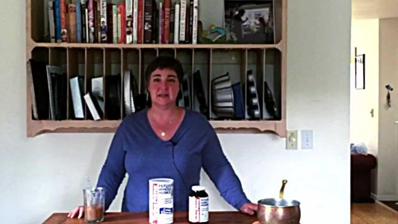 how to add psyllium husk to baking