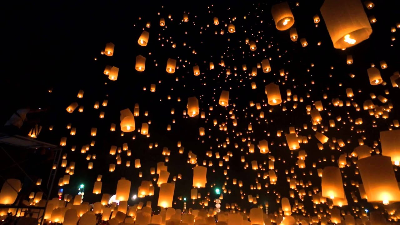 Lanna Yi Peng Lantern Festival 2014 - YouTube for Lantern Festival Hd  156eri