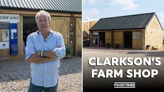 Jeremy Clarkson gave us a tour of his farm shop