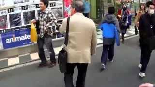 In Akihabara (Tokyo), looking for Yugioh (or Yu-gi-oh) card shops