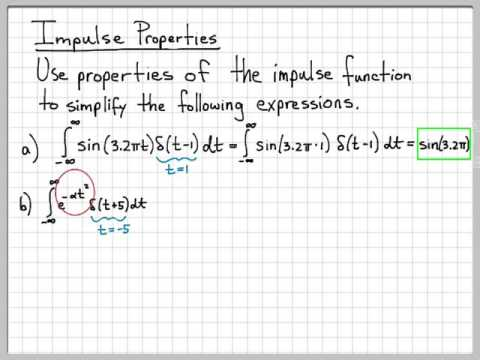 The Continuous-Time Unit Impulse Function 4/4