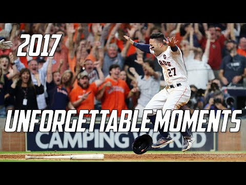 MLB   2017 - Unforgettable Moments