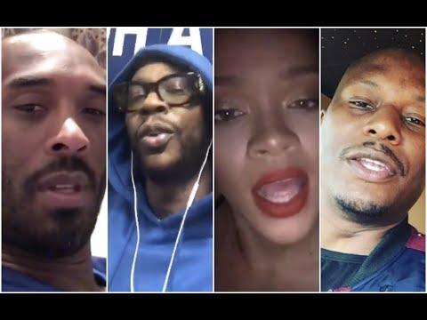 Celebs React To Beyonce Coachella Kobe Bryant, 2Chainz, Tyrese, Rihanna