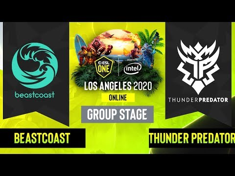 Beastcoast vs Thunder Predator vod