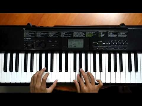 Zoobi doobi  piano with chords