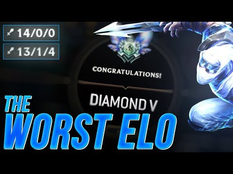 LL Stylish - THE WORST ELO - UNRANKED TO CHALLENGER