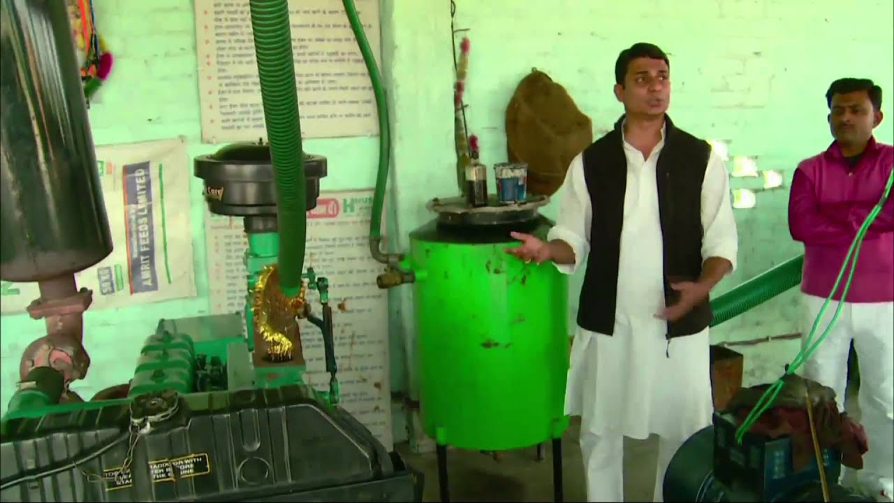 How Social Entrepreneurs Use Rice Husks to Power India