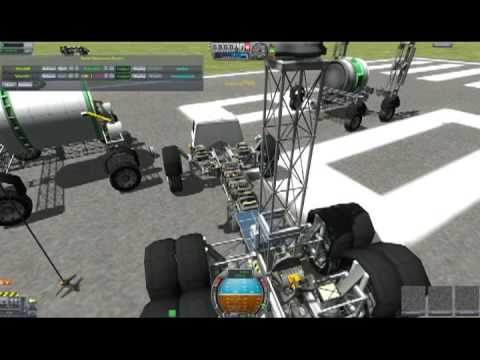 Kerbal Space Program KAS Winch Mod Tutorial How To Save