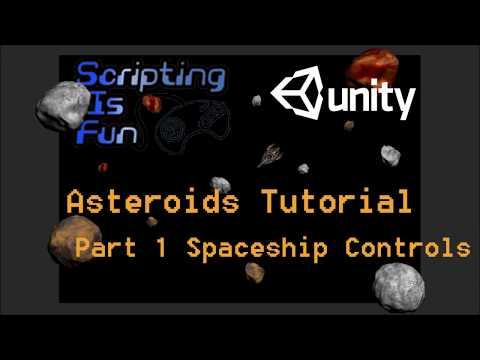 Asteroids - Part 1 - Spaceship Controls